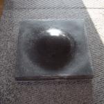Dot, Basalt 40 x 40 cm