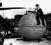 Kugelguß Beton ø 200 cm, 1990